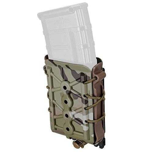 IDOGEAR Mag Pouch 5.56mm 7.62mm Rifle Magazine Pouches Molle Tactical Airsoft Poly Mag Carrier Hunting Equipment Holder