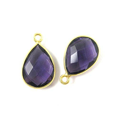 Bezel Gemstone Pendant - Small Teardrop  - Bezel Gemstone Shopping Results