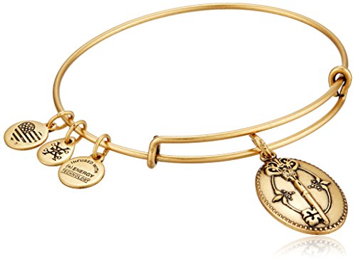 Alex and Ani Key To Life Expandable Rafaelian Bangle Bracelet