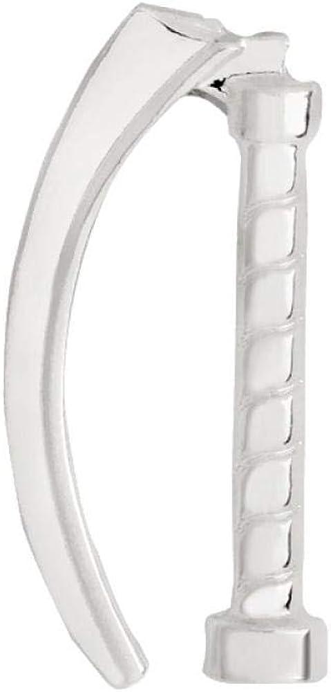 Zxx17 Accesorios de Ropa médica, Broche de laringoscopio de aleación Creativa, Accesorios de Cuello de Bolsa