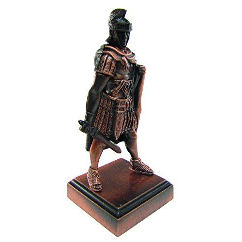 Bronze Replica - Bronze Metal Roman Gladiator w/Warrior Mask Replica Die Cast Pencil Sharpener