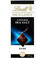 Lindt Excellence Dark Sea Salt, 100 gm