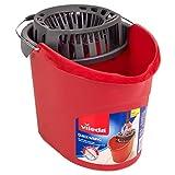 Vileda Quick Wring Bucket 10 L Bucket With Wringer