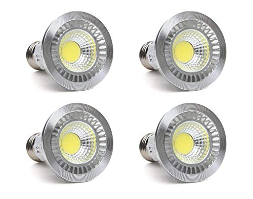 Cheap CTKcom 5W LED COB Flood Bulb MR16 LED Bulbs(4 Pack)- Flood Light Bulbs Downlight Lamp Flood 90° Beam Spread,2700K Warm White,50W Halogen Bulb Equivalent,LED Spotlight Bulb 110V~130V E26/E27 Base