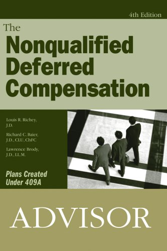 Read Online Nonqualified Deferred Compensation Advisor PDF