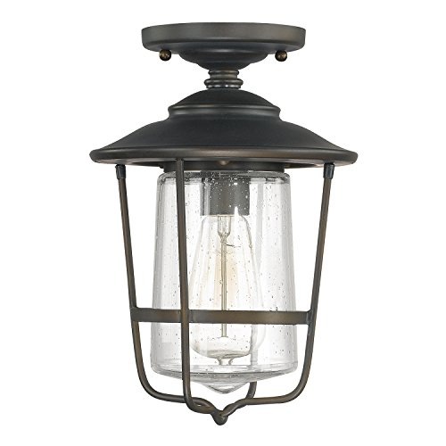 Capital Lighting 9607OB One Light Outdoor Ceiling