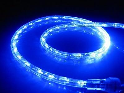 LED ROPE LIGHT 12V, OCEAN BLUE LED ROPE LIGHT KIT FOR 12V, Christmas Lighting, Outdoor Rope Lighting
