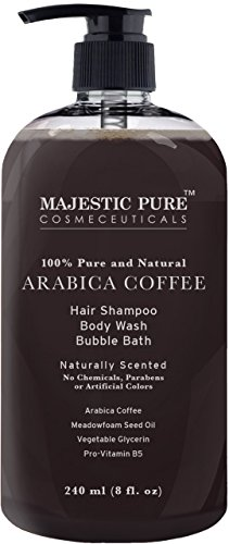 Arabica-Coffee-Anti-Hair-Loss-Shampoo-Body-Wash-From-Majestic-Pure-Restore-Hair-Growth-Promotes-Manageable-Hair-Regrowth-8-Fl-Oz