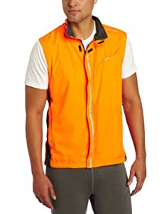 Saucony Men's Sonic HDX Vizipro Vest (Vizipro Orange, Small)