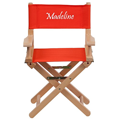 (Flash Furniture Embroidered Kid Size Directors Chair in)