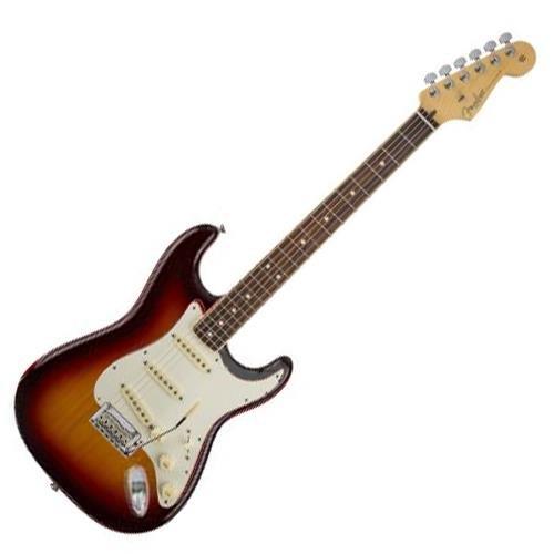 Fender 2016 Limited Edition American Standard Stratocaster Channel Bound Guitar, 21 Frets, Modern C Neck, Rosewood Fingerboard, 3-Color (Bound Neck)