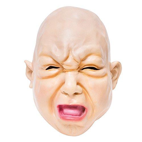 (Bristol Novelty BM412 Baby Fat Face Mask, One)
