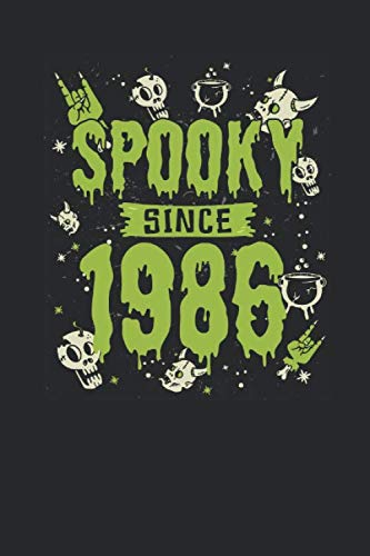 Spooky Since 1986: Graph Paper Journal (6