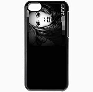 Personalized iPhone 5C Cell phone Case/Cover Skin Adele someone like you by economaster Black