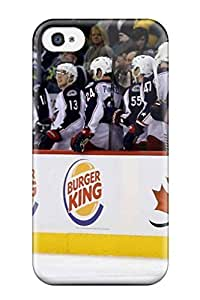 TYH - columbus blue jackets hockey nhl (63) NHL Sports & Colleges fashionable iPhone 4/4s cases 1210886K767125793 phone case