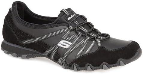 activación Agente de mudanzas Omitir  Skechers Active - Dream Come True - Leather Trainer 146 480 - Black Size 2  UK: Amazon.co.uk: Shoes & Bags