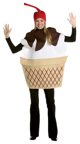 Food And Drink Halloween Costumes (Ice Cream Sundae Adult Costume)