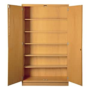 Tall Wood Storage Cabinet 30 W X 22 D X 84