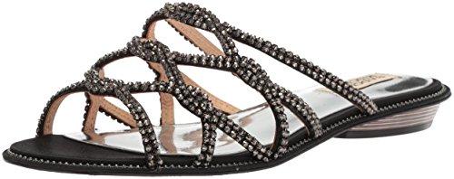 Flat Badgley Black Mischka Sandal Sofie Women's qZwgAr4Ztn