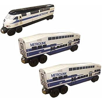Whittle Shortline Railroad Manufacturer La Metrolink Mp 36 3 Pc Set