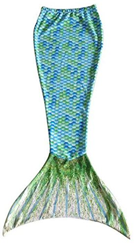 Animal Tails - Mermaid Tail Blanket (74x30, Green)