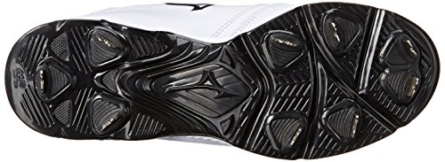 Mizuno Kvinnor 9-spik Swift Tre Omkopplare Softball Cleat Vit / Svart