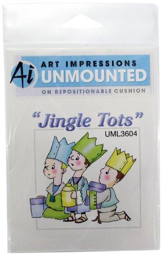 Art Impressions Nativity Wisemen Rubber Stamp - Nativity Cling Stamp
