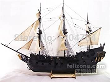 Amazoncom Classics Wooden Ship Model Kits Pirate Ship Model Scale