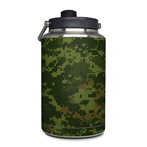 CAD Camo Protector Skin Sticker Compatible with Yeti Rambler 1 Gallon Jug - Ultra Thin Protective Vinyl Decal Wrap ()