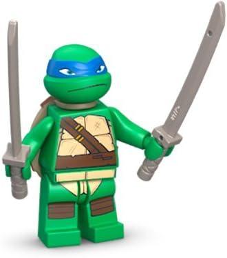 Amazon.com: LEGO TMNT - Leonardo V1 Minifigure - Teenage ...