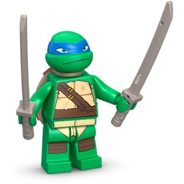 LEGO TMNT - LEONARDO V1 Minifigure - Teenage Mutant Ninja ...
