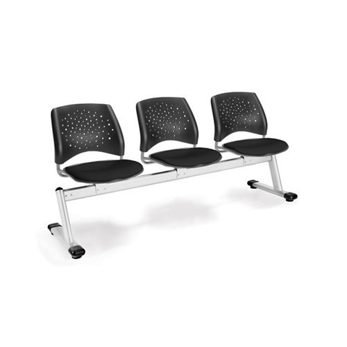 (OFM 323-2210 Stars 3-Unit Beam Seating with 3)