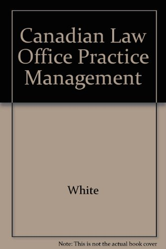 Canadian Law Office Practice Management