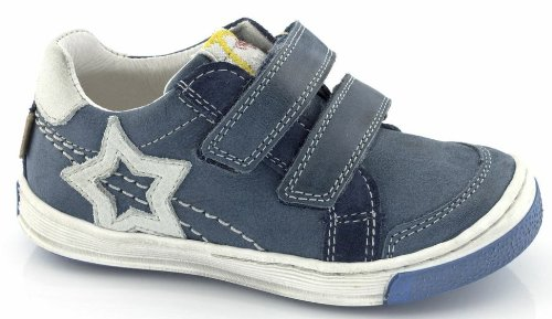 Froddo unisex Sneaker Halbschuhe Leder blau