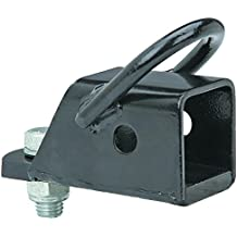 """ATV Quad Runner 4 Wheeler 2"""" Square Hitch Adapter with Loop Anchor"""