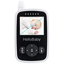 HelloBaby Video Baby Monitor Parent Handheld Unit Without Camera, HB24RX