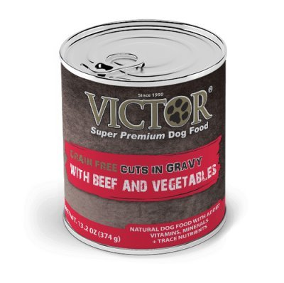 Victor Grain Free Beef and Vegetables Stew Canned Dog Food - 13.2 oz (12 cans in a case)
