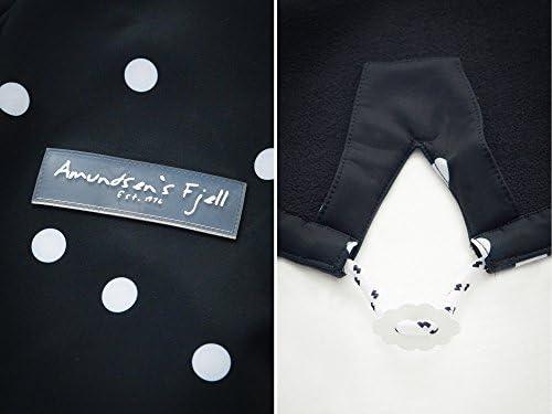 Amundsens Fjell Softshell-Mantel Gurri schwarz