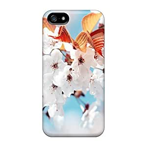 Tpu Shockproof/dirt-proof Cherry Blossom Cover Case For Iphone(5/5s)
