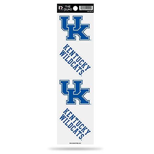 - Rico NCAA Kentucky Wildcats Quad Decal