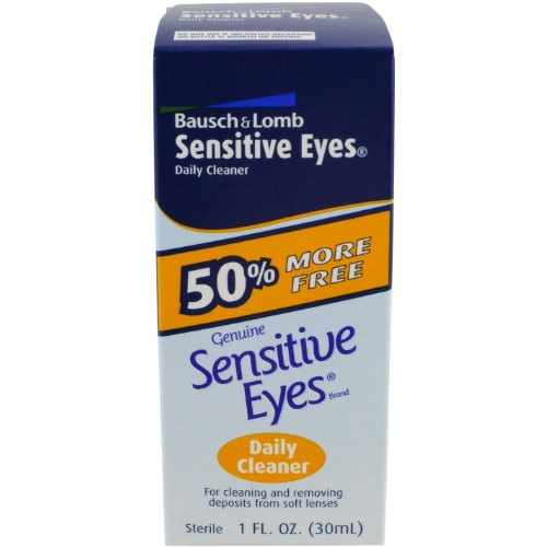 Bausch & Lomb Yeux Sensibles Daily Cleaner, une once