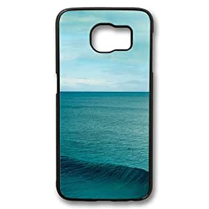 Samsung Galaxy S6 Case, Sea Rugged Case Cover Protector for Samsung Galaxy S6 PC Plastic Black