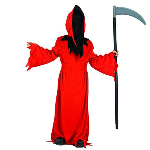 Child Devil Costume Boy (Children Halloween Red Devil Costumes (4-6Y))