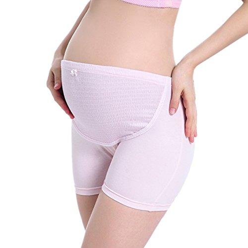 Briefs sopra Supporto senza alta Bornbayb regolabile Vita Donna maternità Rosa Bump cuciture di Panty Pregnant nqvWCOxRW
