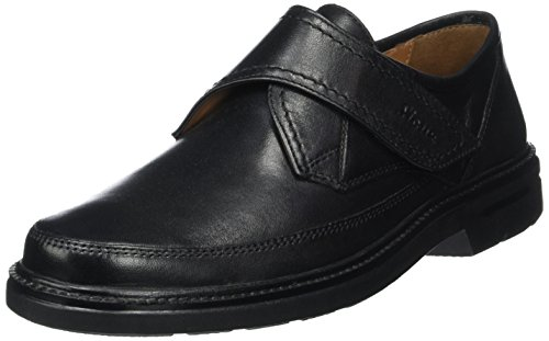 SiouxManfred - Mocasines Hombre Negro - negro
