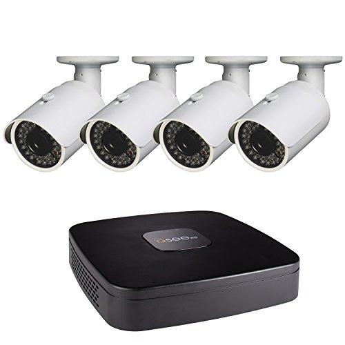 - Q-See 4-CH 1080P Analog HD DVR, 4-1080P BNC Bullet Cameras, No Hard Drive Included (QC4-4B3)