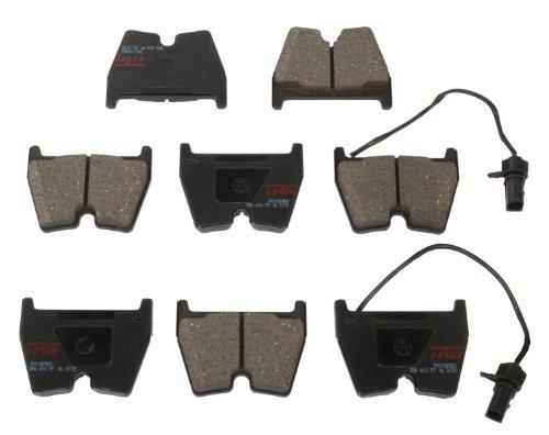 (TRW TPC1029ES Premium Ceramic Front Disc Brake Pad Set)