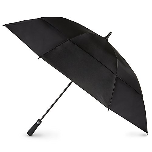 (totes Automatic Open Extra Large Vented Canopy Golf Stick Umbrella)