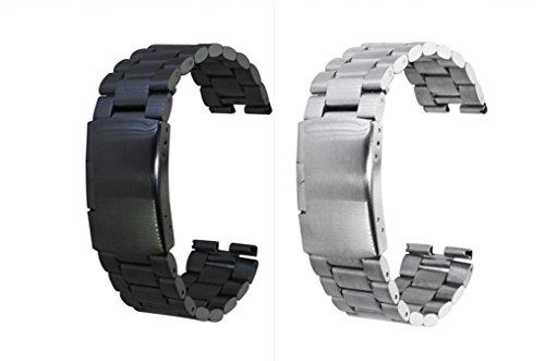GOOQ Stainless Watchband Smartwatch Protector