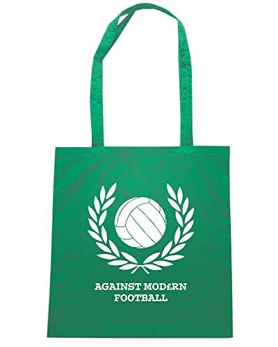 Shirt FOOTBALL Speed MODERN Verde Borsa Shopper AGAINST TUM0159 Onnfvq6Uw
